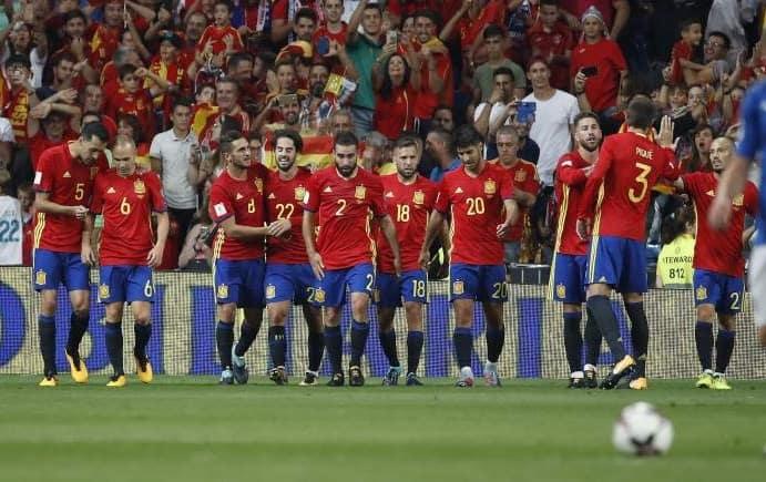 Partido decisivo España contra Albania
