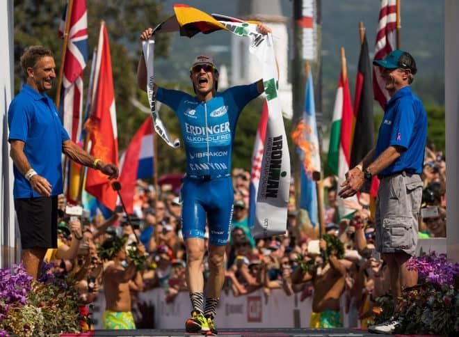 Lange vence en el Ironman de Hawai