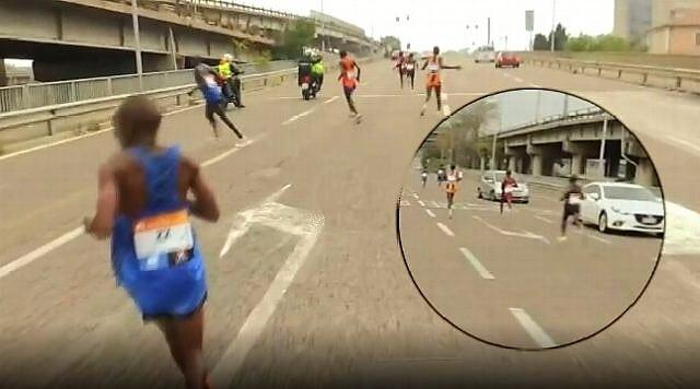 Perdidos en el maratón de Venecia