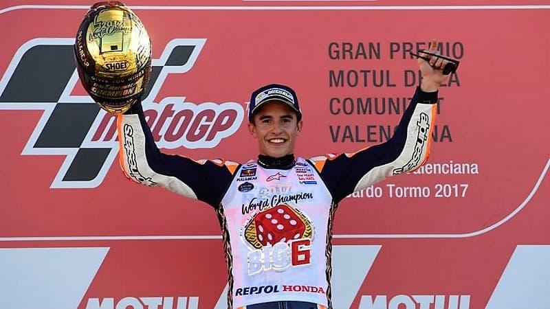 Marc Márquez campeón en MotoGP por 4ª vez