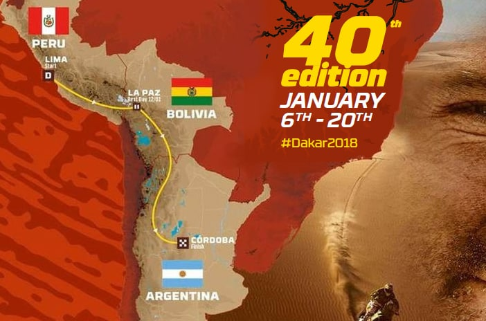 El rally Dakar cumple 40 años