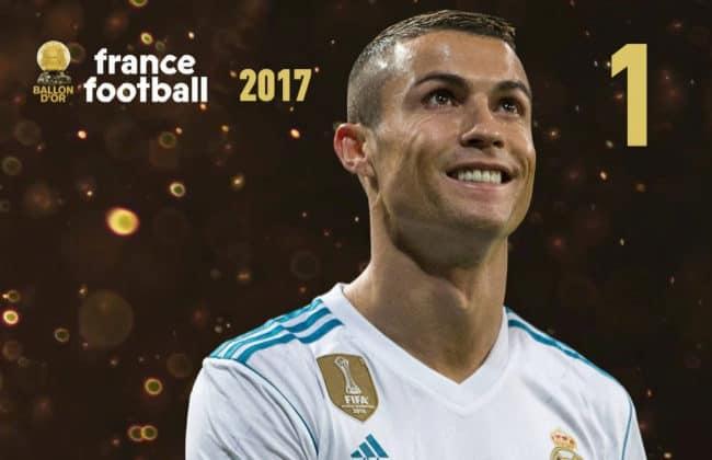 Cristiano Ronaldo gana su 5º Balón de Oro