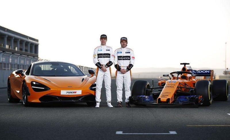 el nuevo coche de Alonso