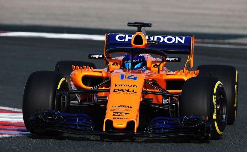 McLaren presenta el nuevo coche de Alonso