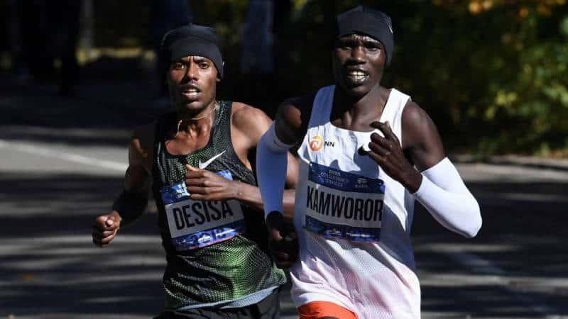 Desisa y Keitany ganan el maratón de Nueva York