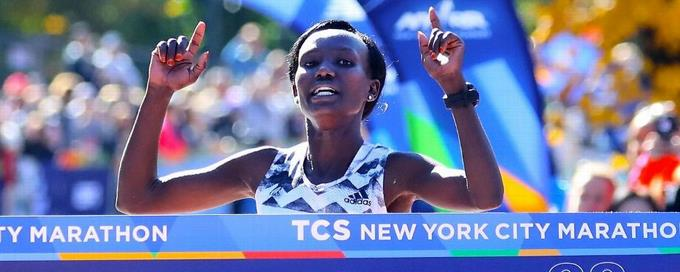 Keitany en maraton Nueva York