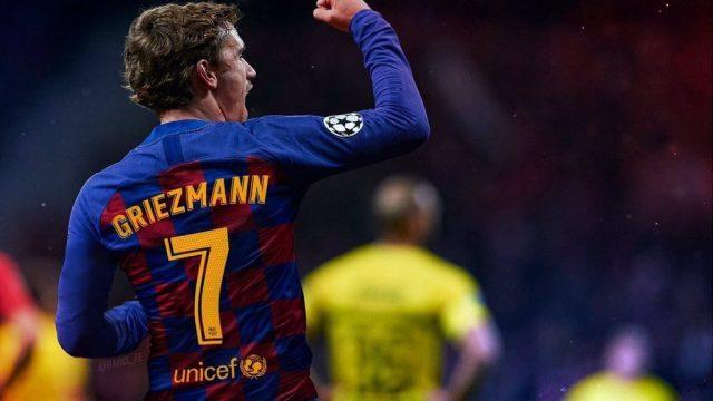 Griezmann en Barcelona