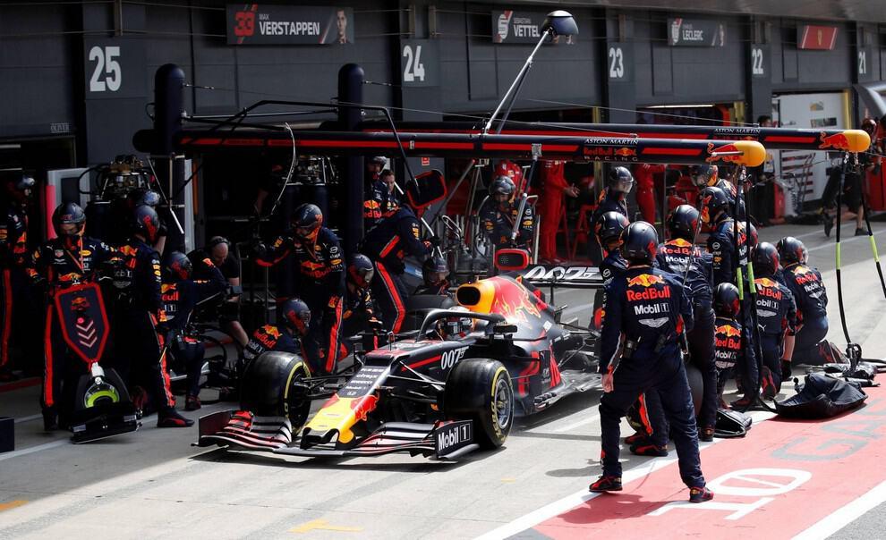 Cambio de neumáticos en la Fórmula 1