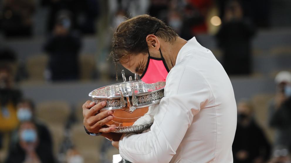 Nadal en Roland Garros
