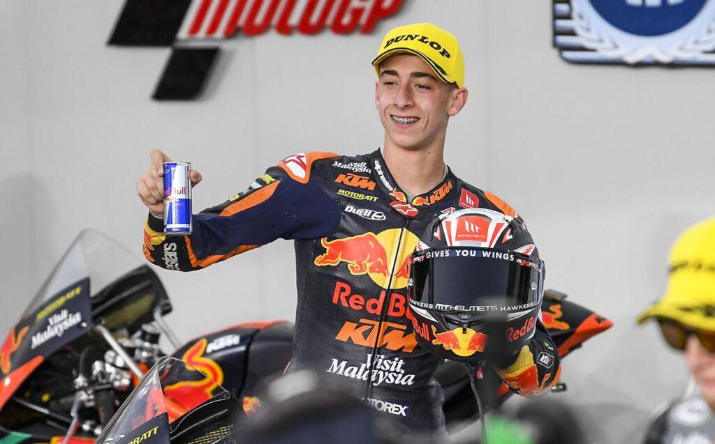 Pedro Acosta, 4 podios en 4 carreras